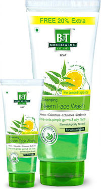 B&T Cleansing Neem Face Wash