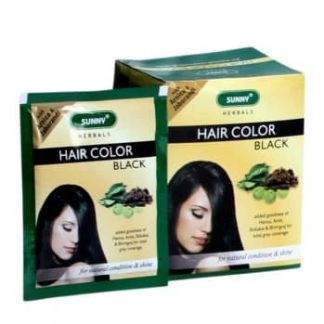 Medicines Mall - Baksons / Sunny  Herbal Hair Colour (Black) (20 GM) Hair Color / Dye