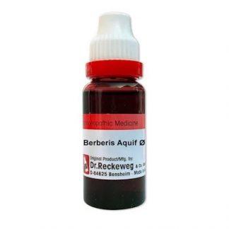 Medicines Mall - RW / Dr Reckeweg Berberis Aquifolium (Q) (20 ML) Mother Tinctures / MT
